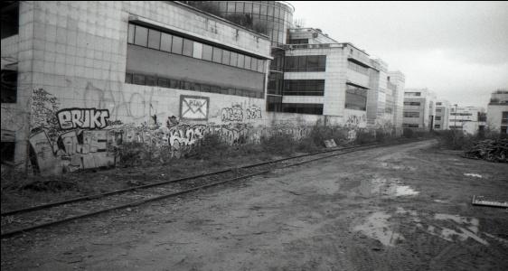 Paris: l'ancienne ligne de la Petite Ceinture (2015)