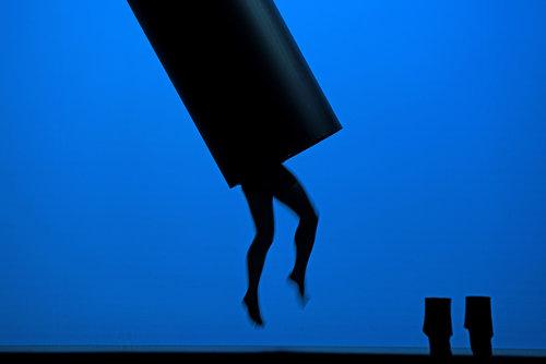 1. Inszenierungsfoto Perelà. Uomo di fumo, © Andreas Etter