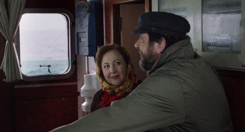 4. Gemeinsame Bootstour mit der ganzen Familie (hier Mercedes und Amaias Vater)